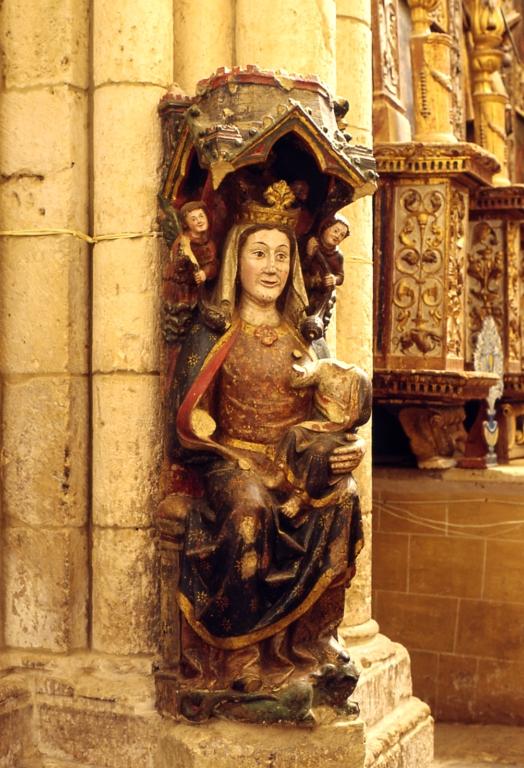 Villalcázar de Sirga » Fotos Iglesia Santa María la Blanca