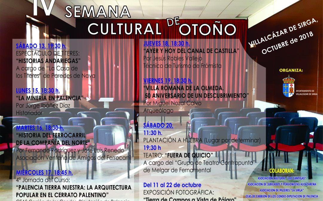 IV Semana Cultural de Otoño