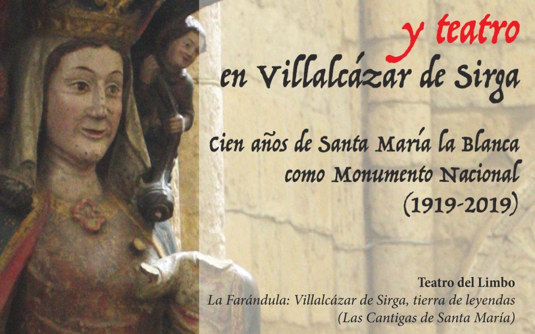 Patrimonio cultural y teatro en Villalcázar de Sirga